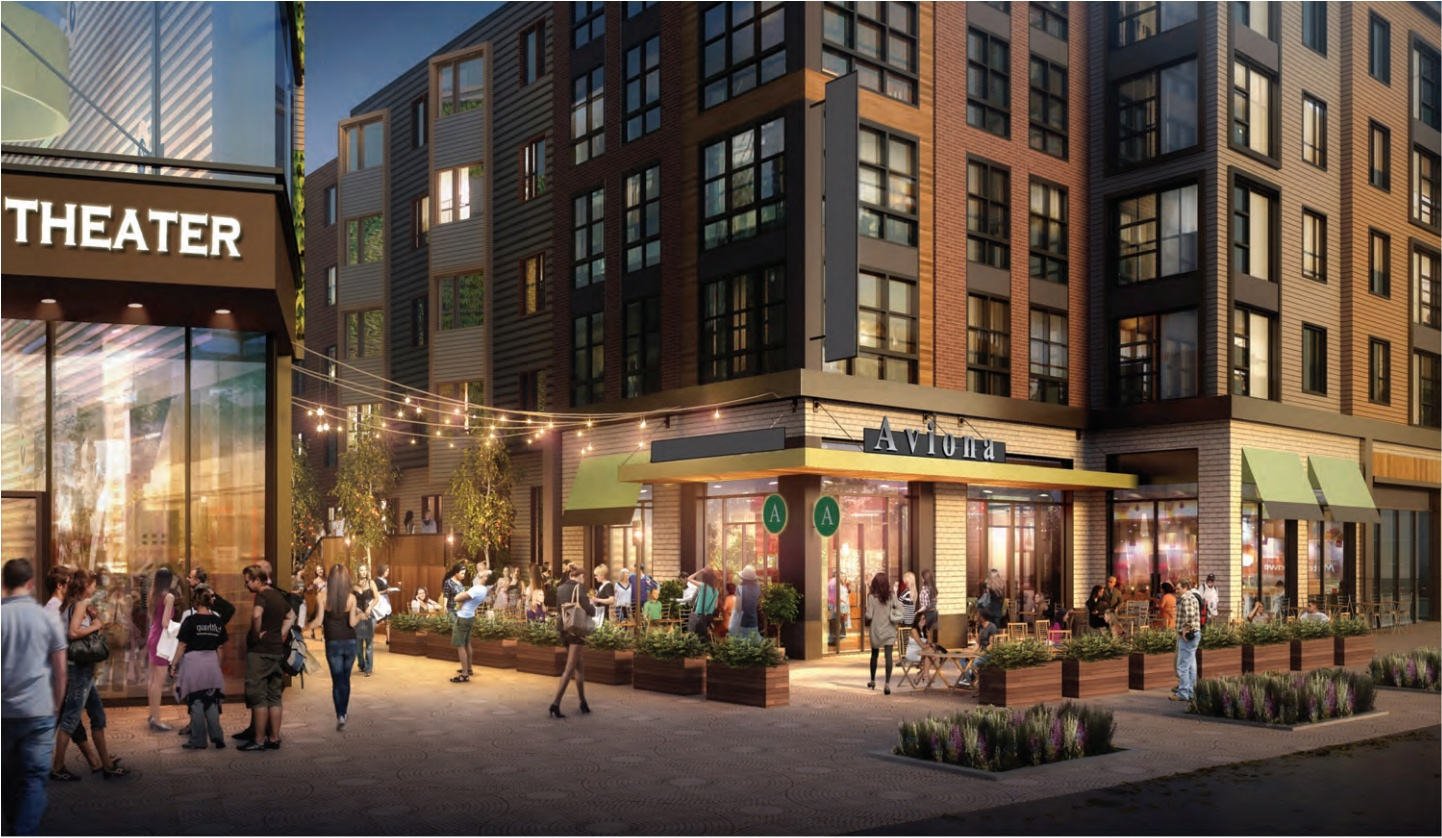 South bay town center proposed redevelopment edens add inc stantec dorchester rendering 3