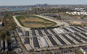 Suffolk downs development site east boston