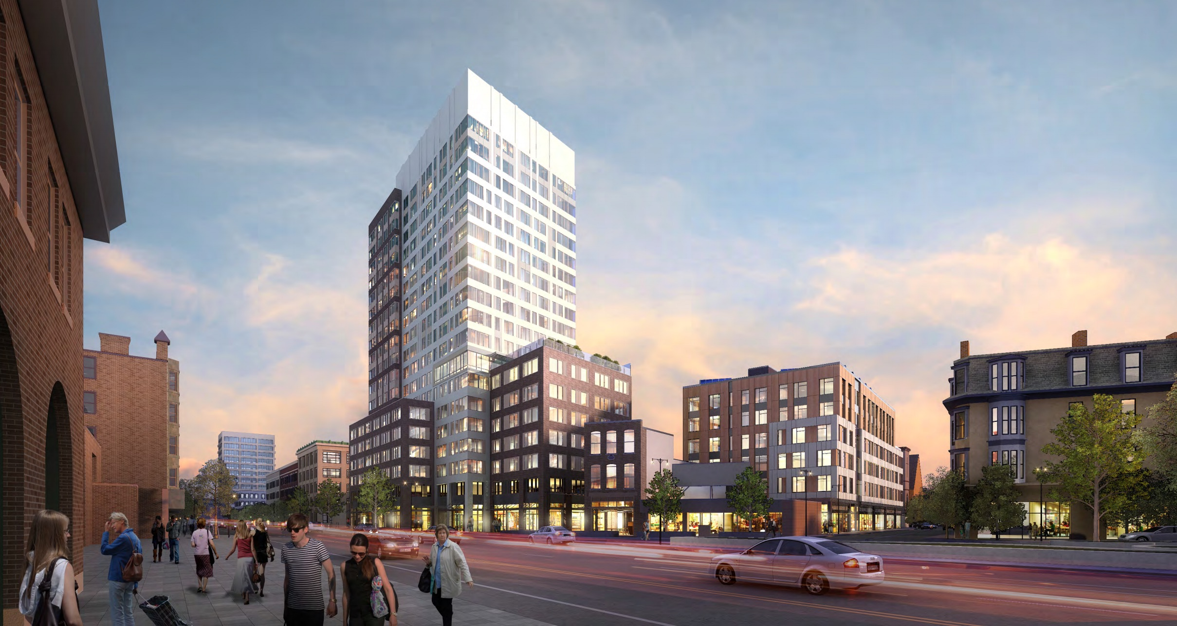 Mass main development central square cambridge apartments retail twining properties