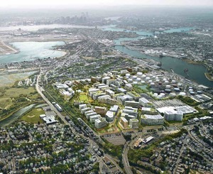 Suffolk downs east boston revere proposed mixed use development amazon the hym investment group