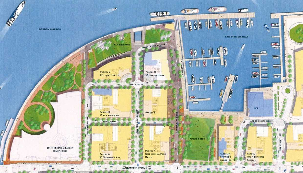 Fan pier development seaport district boston