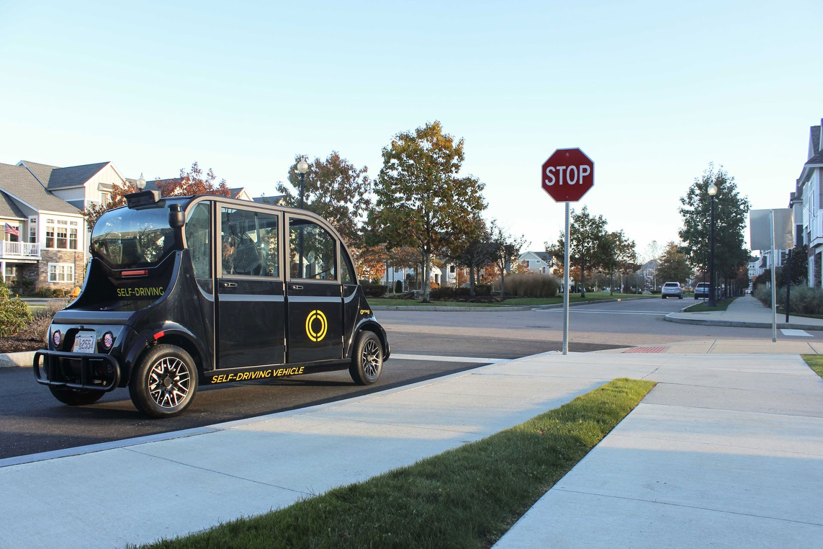 Union point autonomous vehicles optimus ride lstar ventures