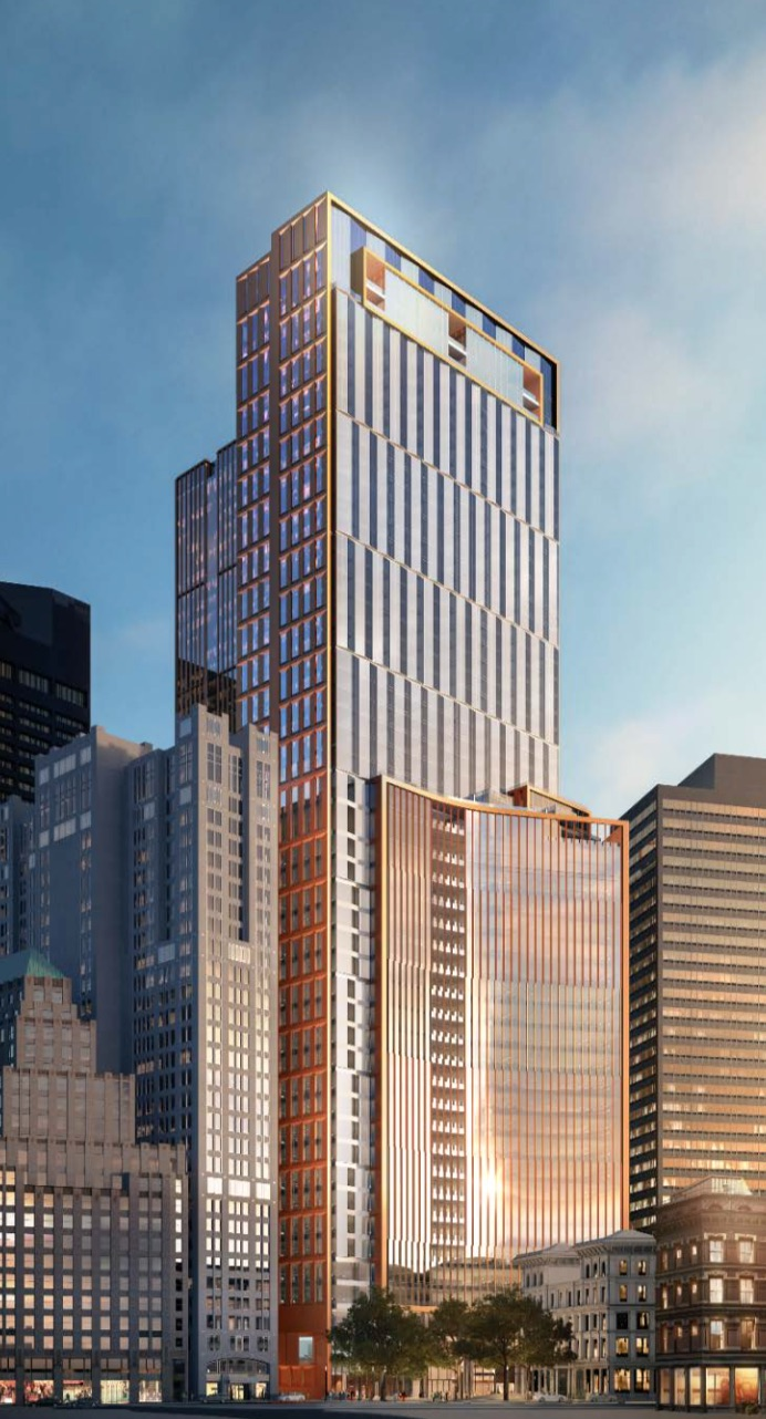 115 winthrop square millennium partners proposed tower