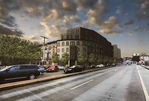 Allston square proposed development cambridge street harvard avenue city realty group embarc architecture