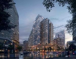 Echelon luxury residences seaport square parcels m1 m2 cottonwood management celona capital regent hotels apartments retail development