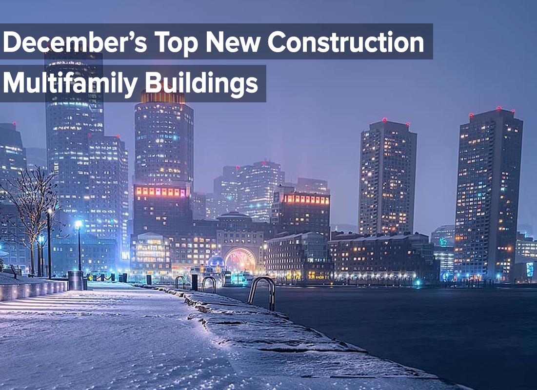 December top new construction multifamily buildings 2019