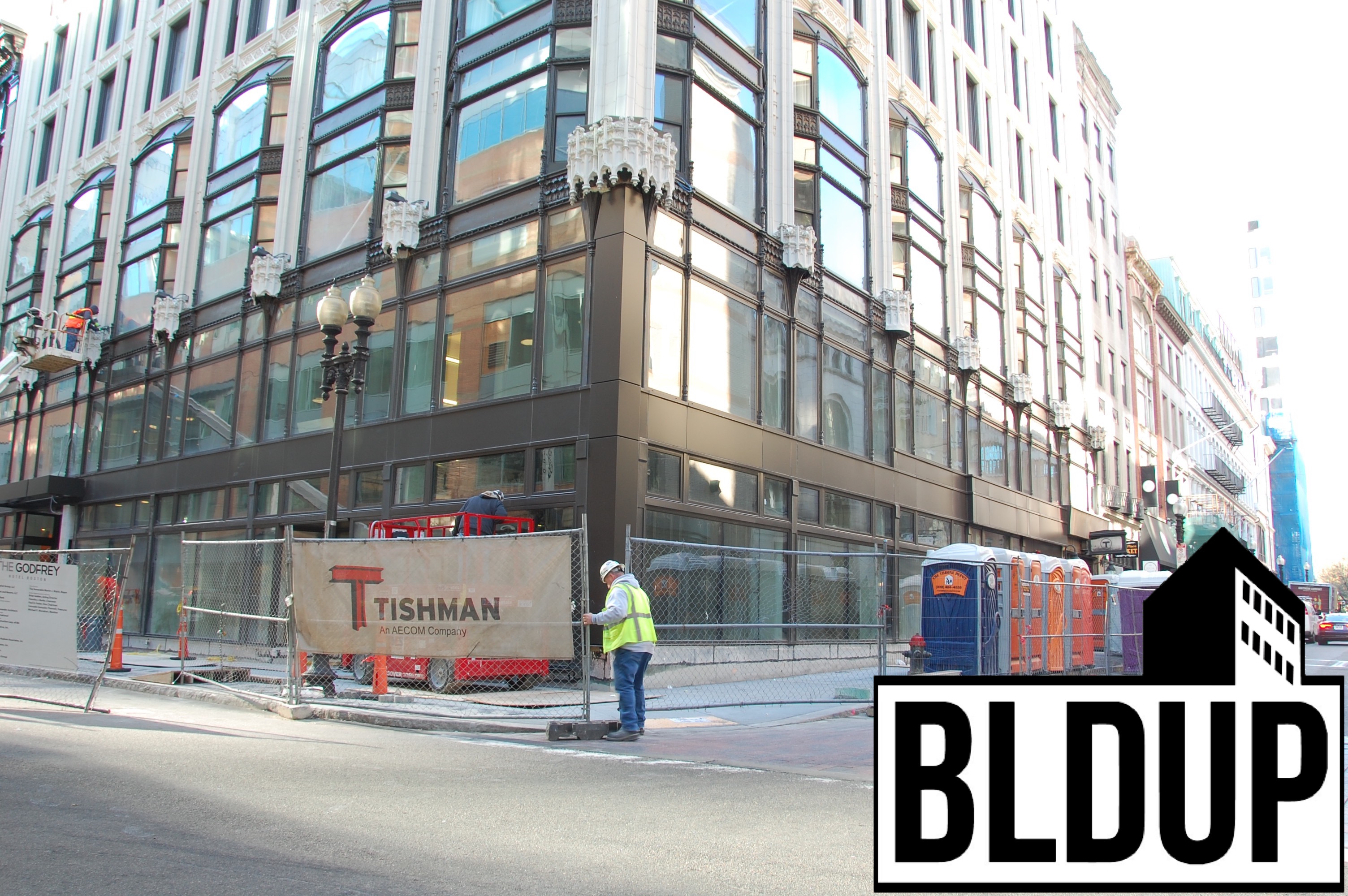 Godfrey hotel downtown crossing urban boston oxford capital tishman construction 19