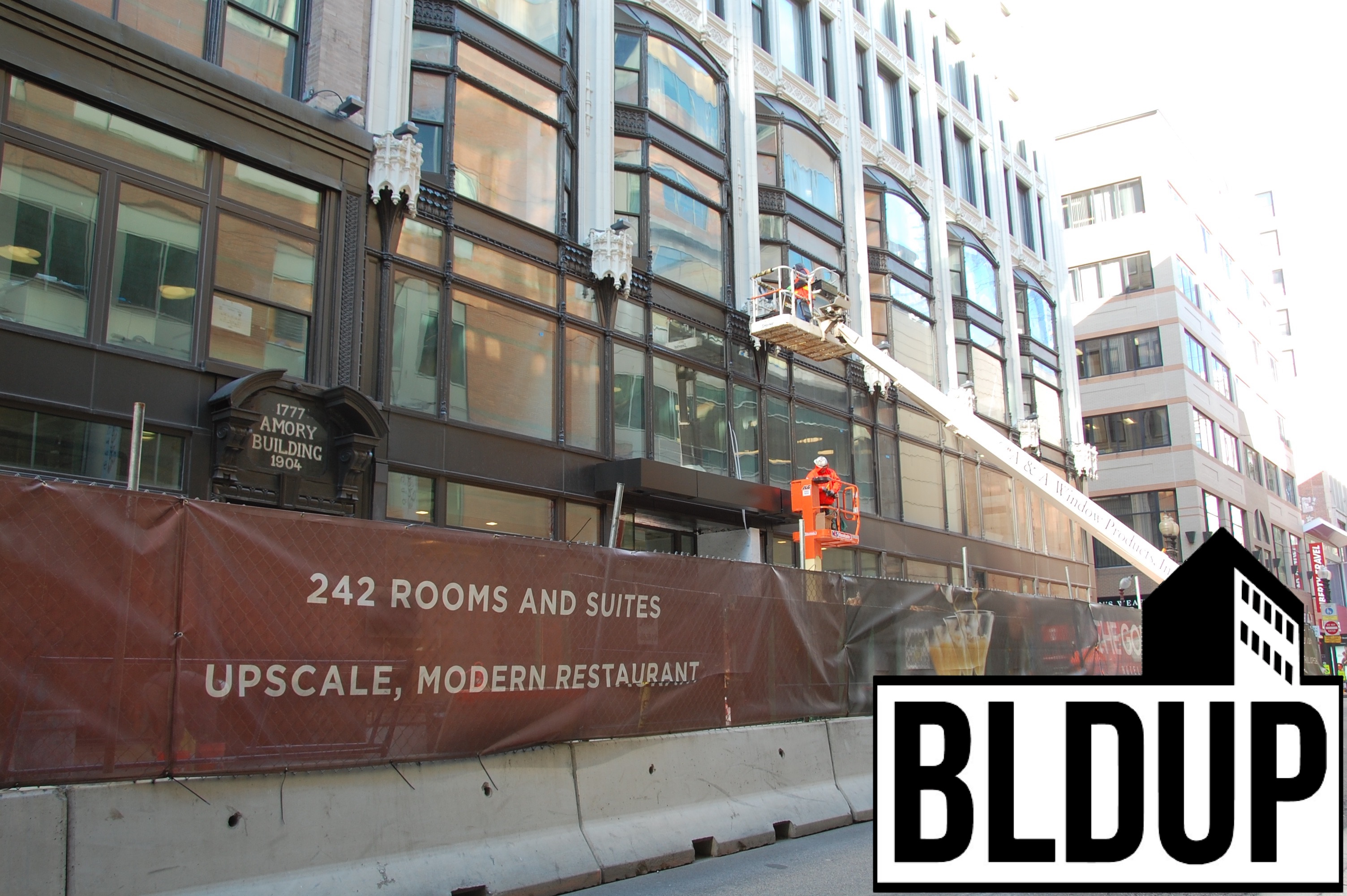 Godfrey hotel downtown crossing urban boston oxford capital tishman construction 21
