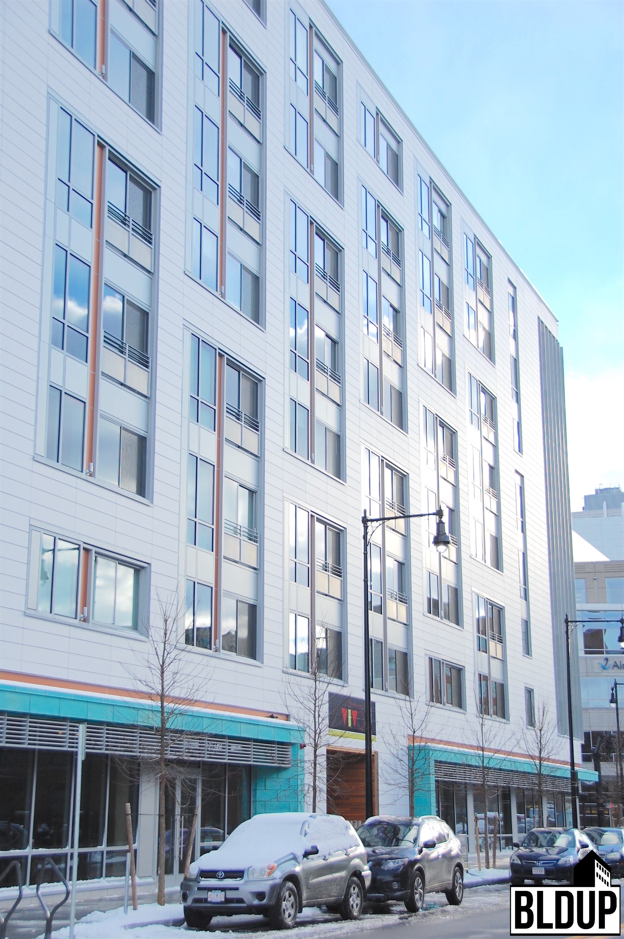 Vivo apartments 270 third street binney street kendall square residential units cambridge cambma gilbane building company construction alexandria real estate equities portfolio developer dimella shaffer architect wsp group engineer 3