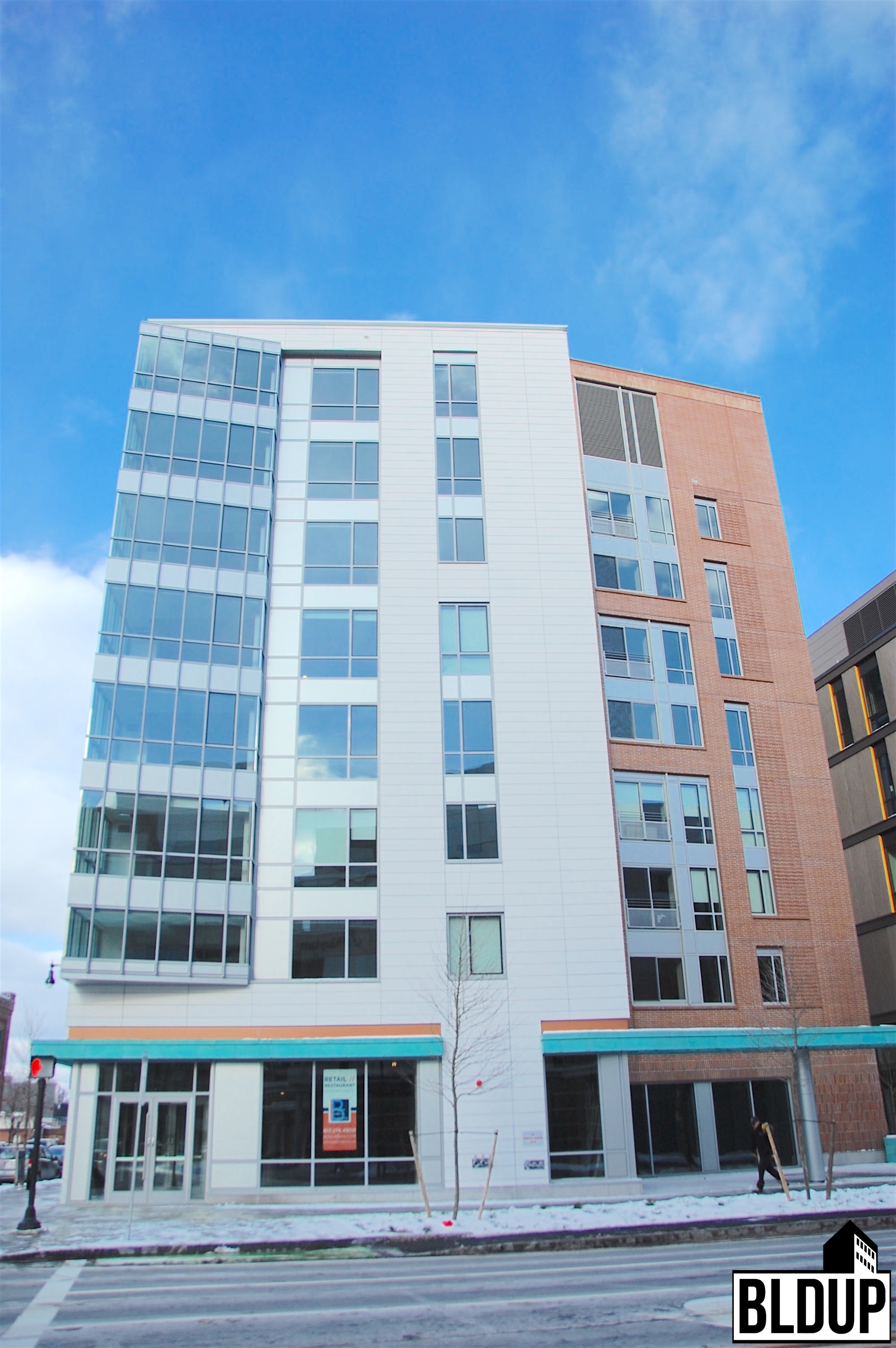 Vivo apartments 270 third street binney street kendall square residential units cambridge cambma gilbane building company construction alexandria real estate equities portfolio developer dimella shaffer architect wsp group engineer 4