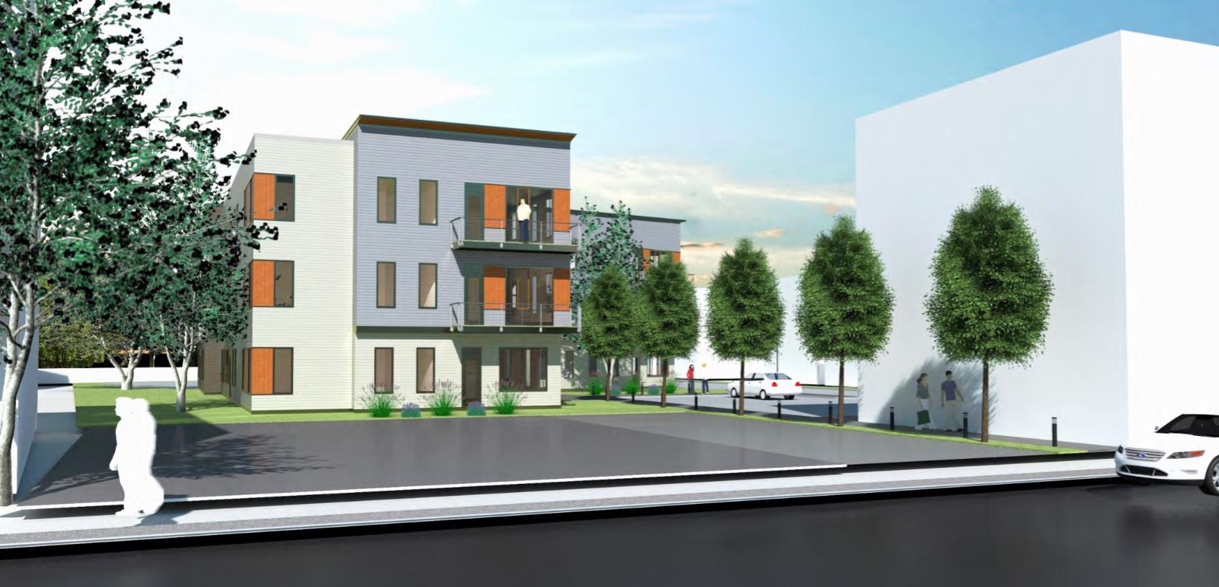 8 banton street apartments dorchester dot avenue ashmont mbta red line connelly construction development spalding tougias architects inc 1