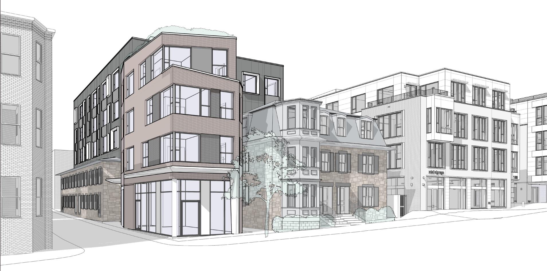 1470 tremont street savage properties residential retail mixed use development mission hill roxbury mbta orange line architect hacin associates rendering 2
