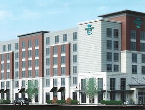 Worcester homewood suites washington square hotel under construction first bristol development tocci building