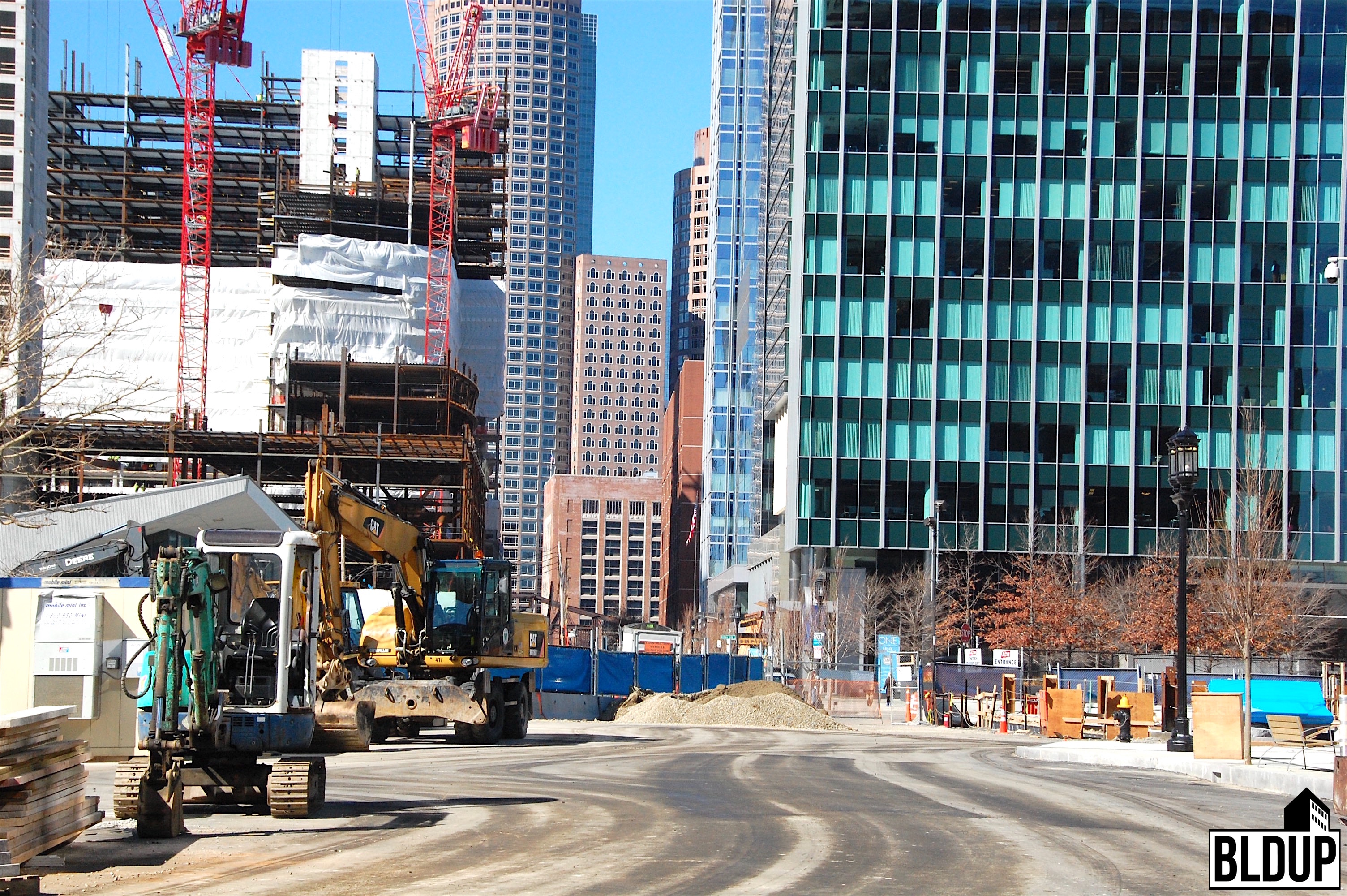 Northern avenue straightening project public works street a a will corporation seaport district south boston waterfront 1