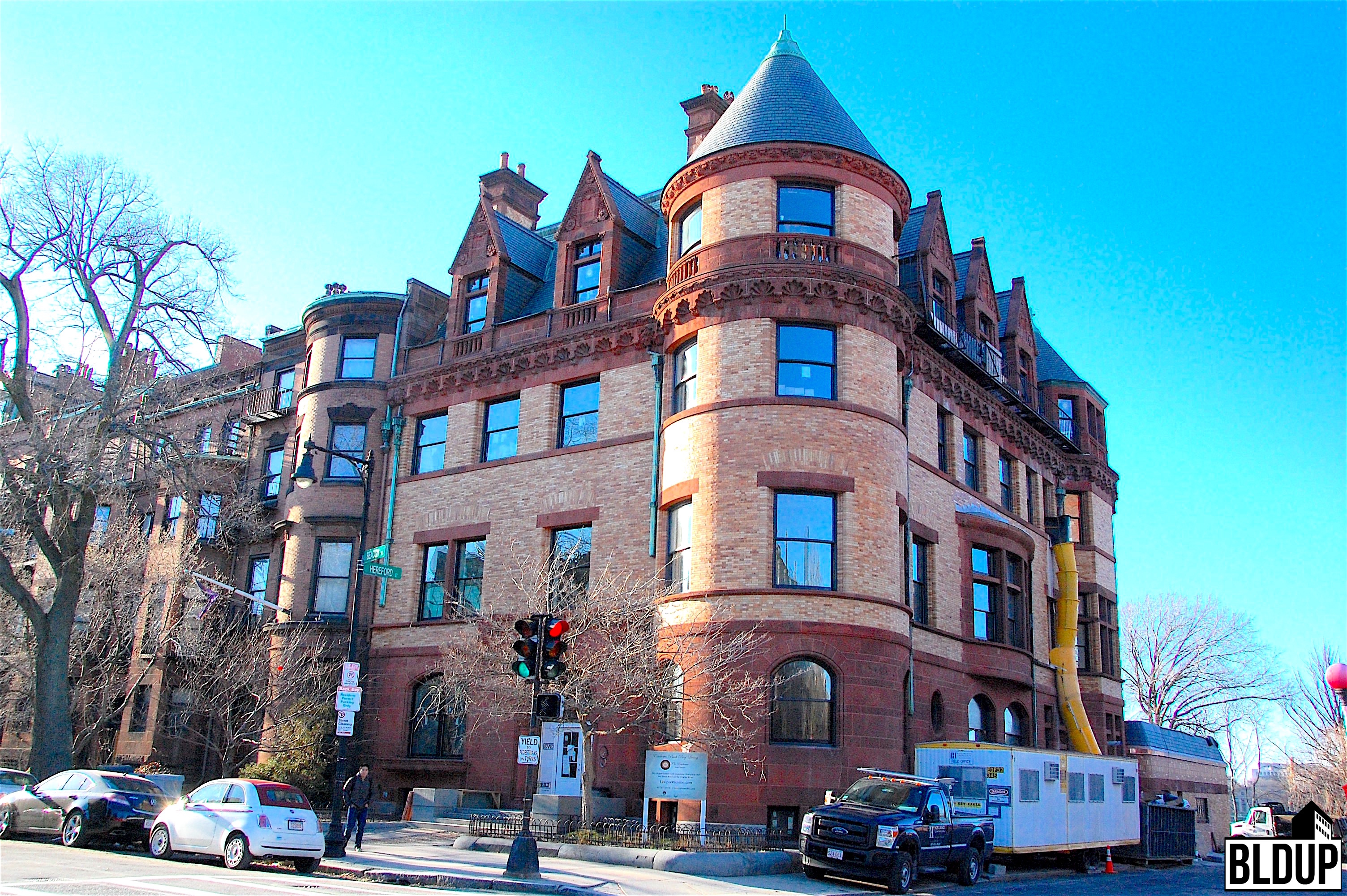The residences at hooper mansion historic back bay storrow drive charles river view boston six condominiums luxury congress group developer hacin associates architecture neoscape holland construction 1