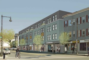 Upper washington mixed use affordable housing retail development vietaid utile four corners dorchester boston