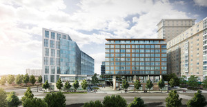 Parcel k seaport district boston 315 northern avenue mixed use residential retail project conroy development corporation massport arrorwstreet architecture rendering