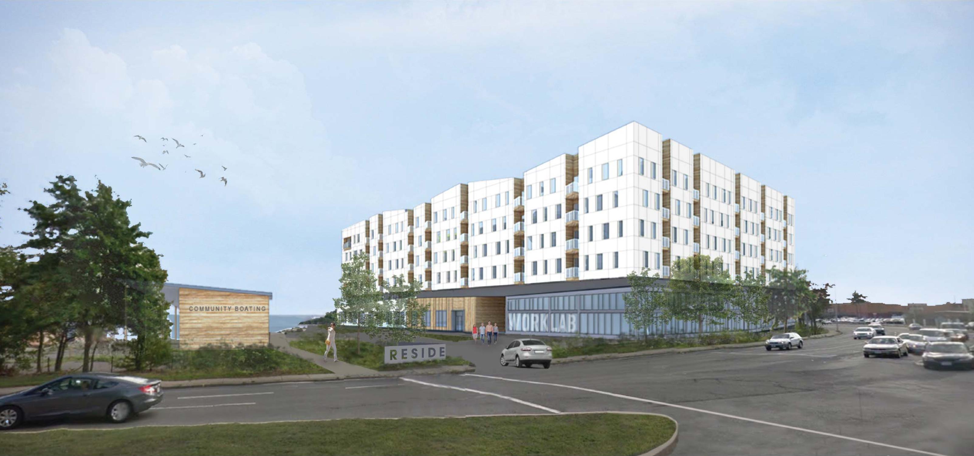 254 258 lynnway residential development lynn waterfront rendering