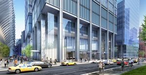 3 world trade center office tower new york city manhattan silverstein properties rogers stirk harbour partners architect rendering