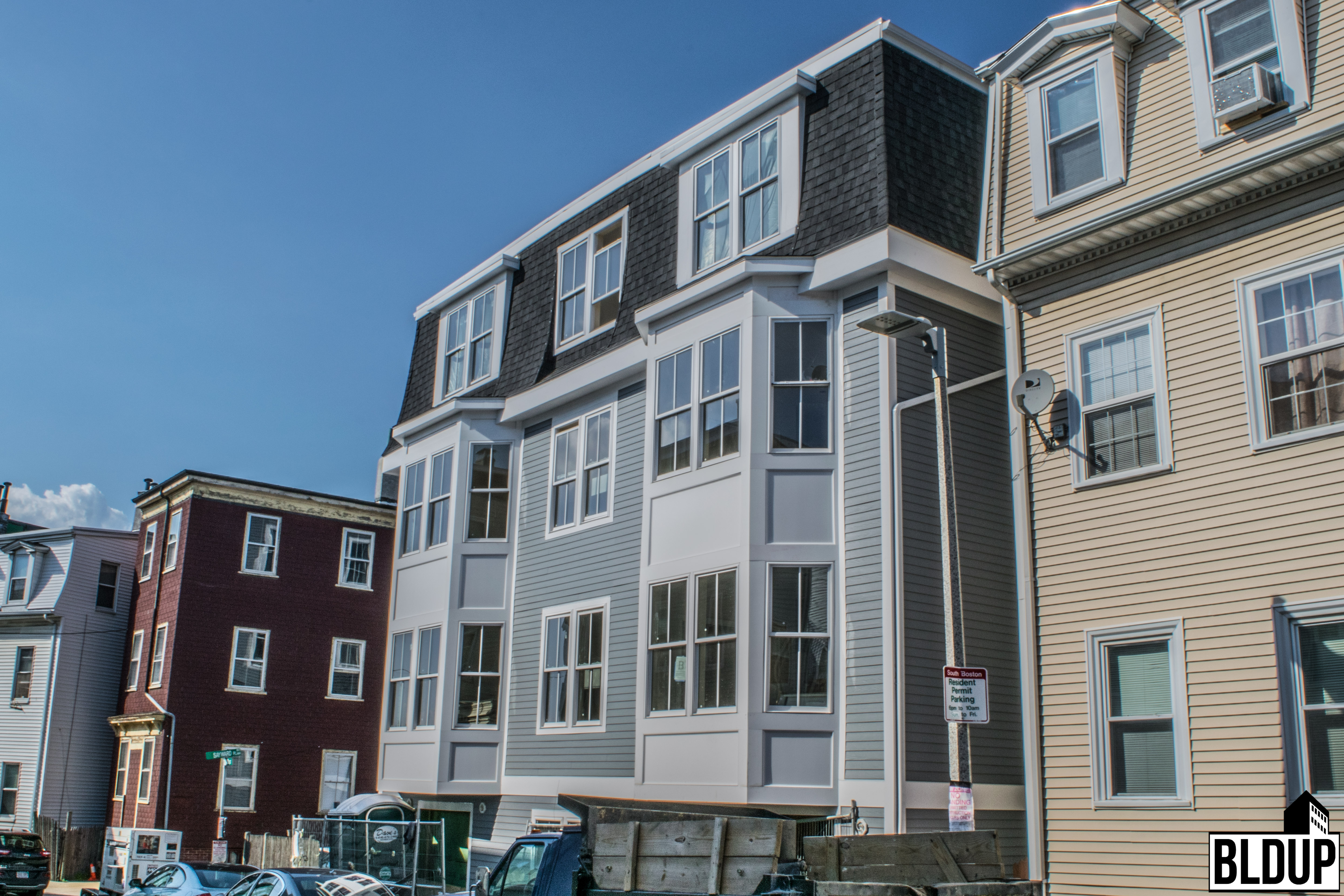 22 24 Woodward Street South Boston Southie Andrew Square Residential  Apartments Development Project Sun Property Group