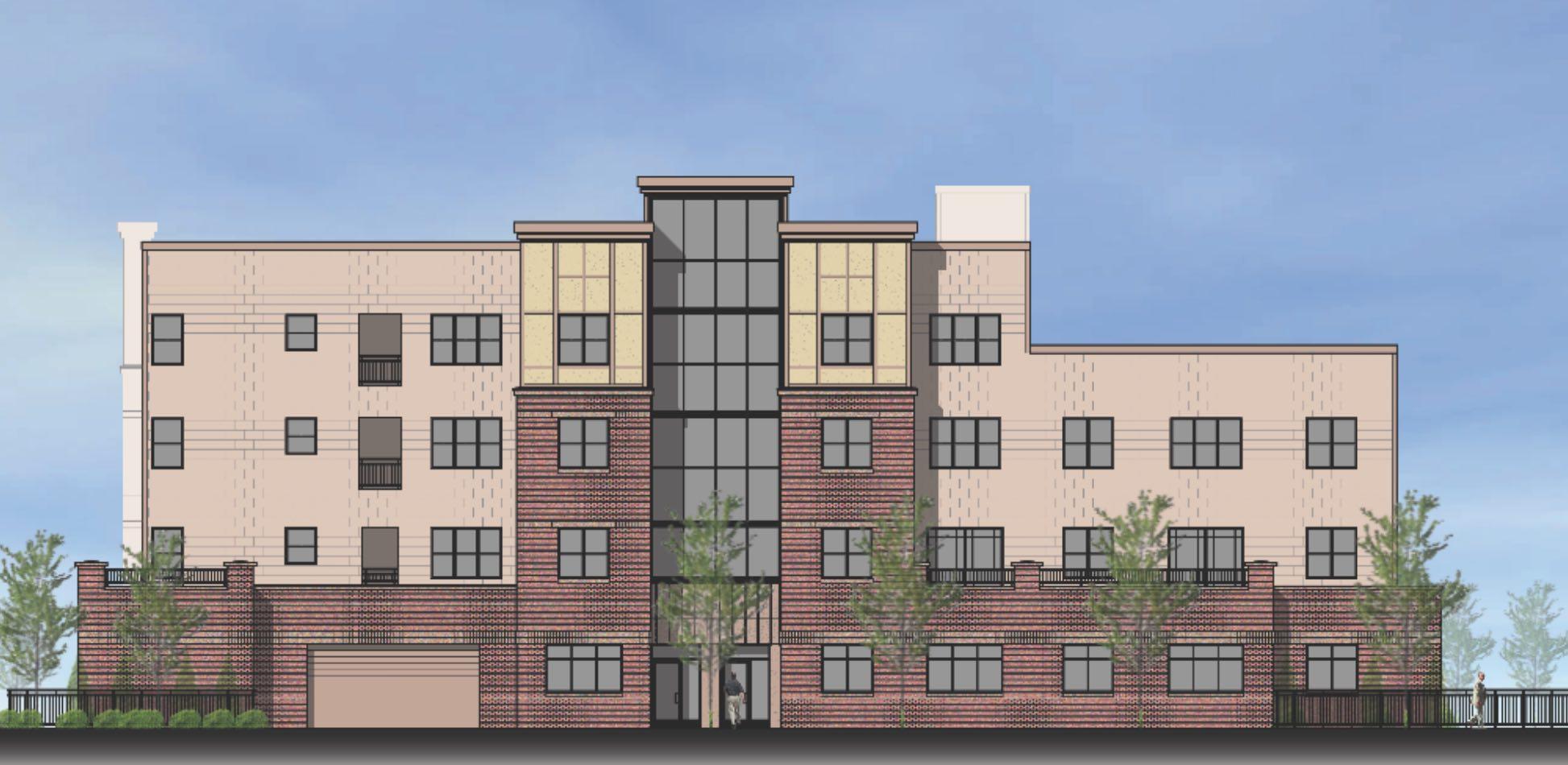 13 shetland street roxbury boston proposed residential apartment development the holland companies vmy architects