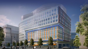100 binney street alexandria center at kendall square john moriarty and associates construction alexandria real estate equities development elkus manfredi architects lab office biotech innovation space cambridge ma build to suit bristol myers squibb
