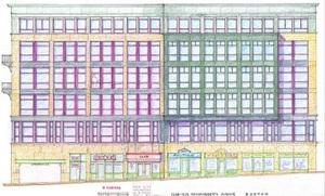 1258 1272 massachusetts avenue edward everett square dorchester apartments for rent retail douglas george development project roche christopher architecture