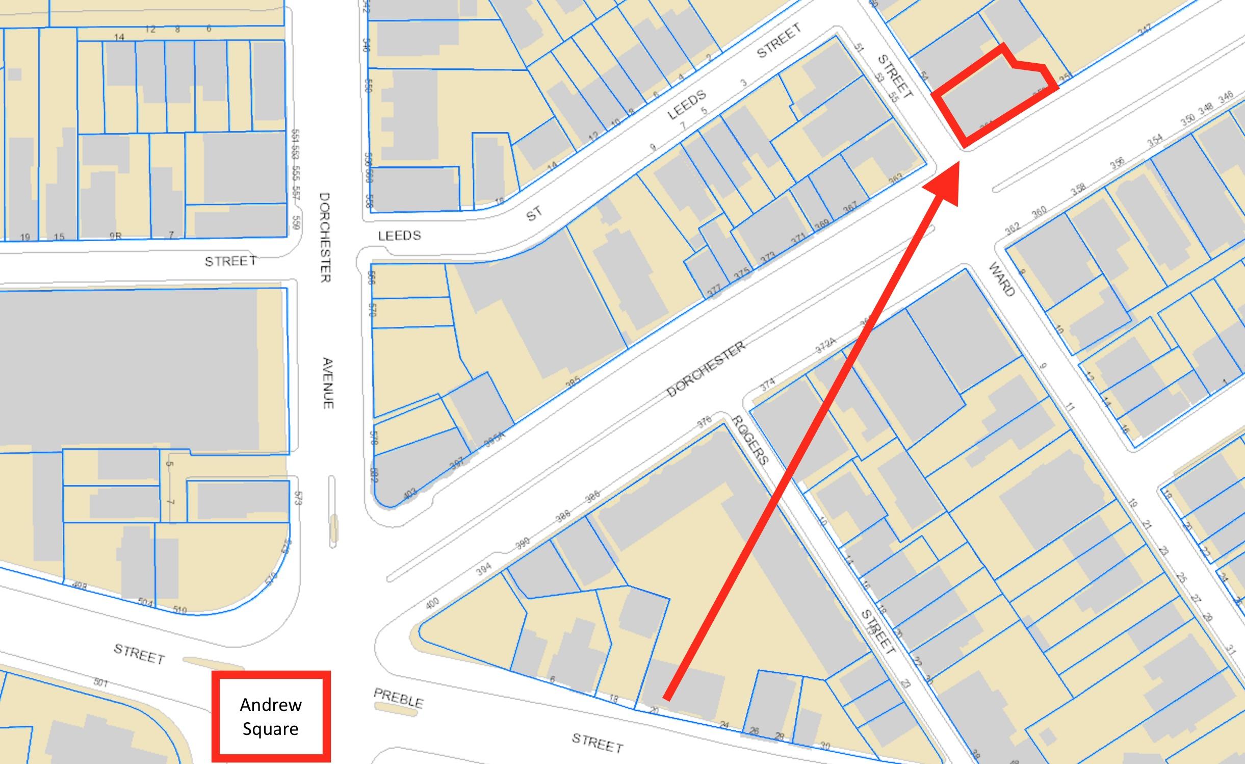 353 361 dorchester street andrew square south boston development project site colm dunphy real estate developer