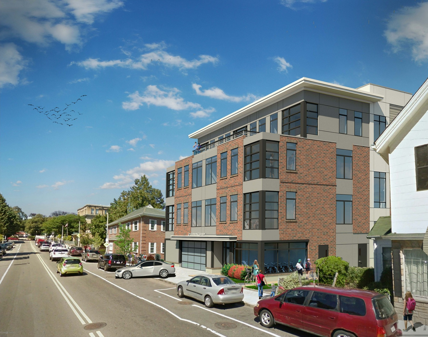 Apartments approved for Roslindales Wallpaper City Residents want