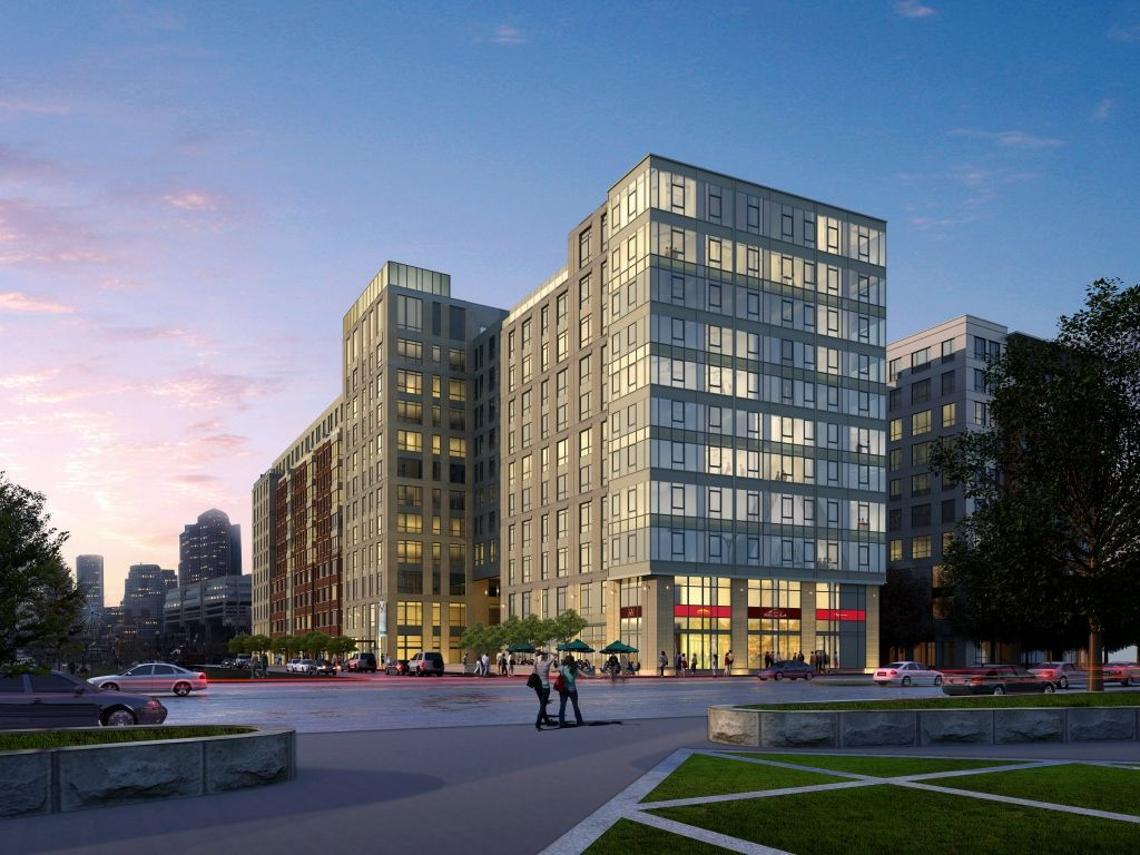 The victor residential apartments for rent retail building bulfinch triangle north station mbta boston