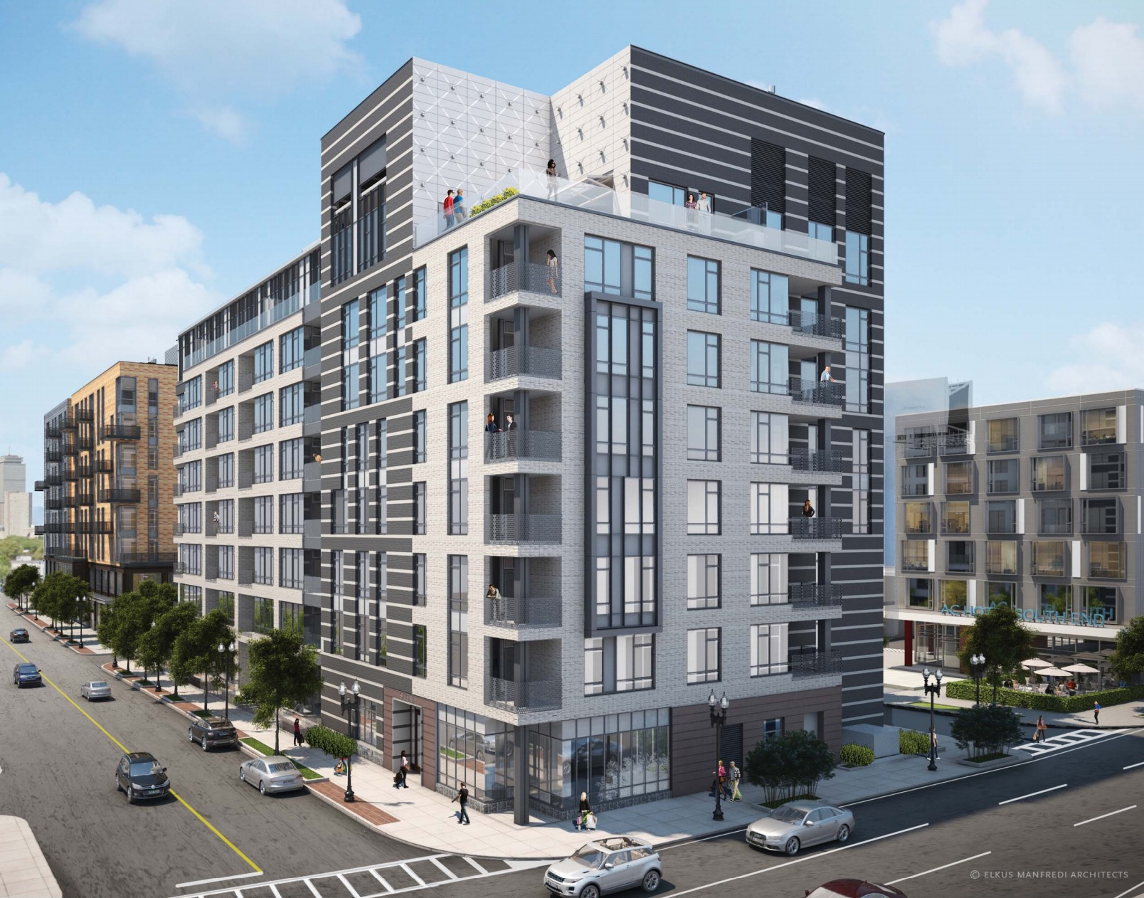 Siena at ink block luxury condominiums for sale south end sowa open market national development