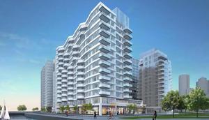 50 liberty drive seaport district south boston waterfront residential retail harborwalk development fallon company fan pier turner construction