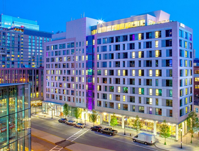 Yotel boston seaport district boston ma