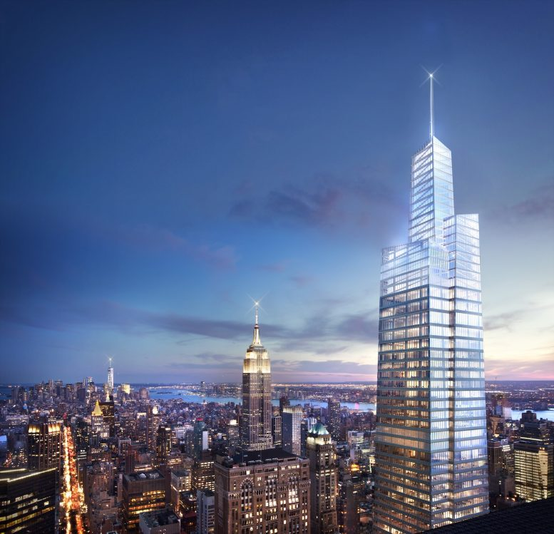 One vanderbilt midtown manhattan new york tallest office retail tower sl green realty corp development