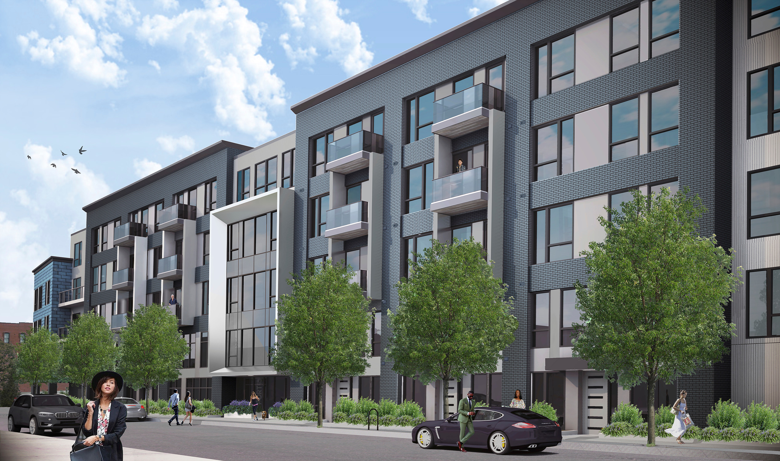 Port 45 west third street condominiums for sale residential development new construction south boston southie
