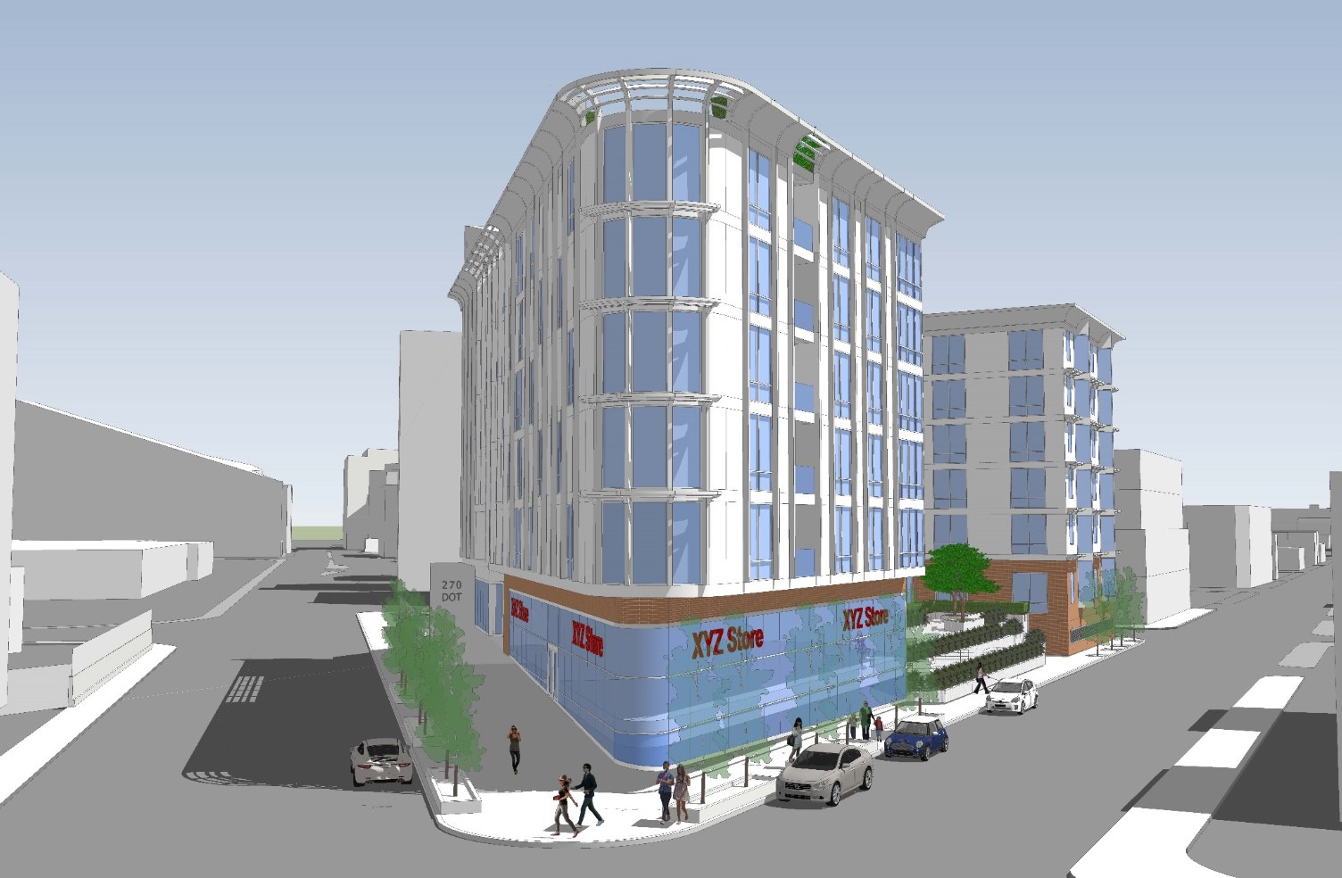 270 dorchester avenue the chandlery south boston southie broadway village residential retail mbta red line proposed development