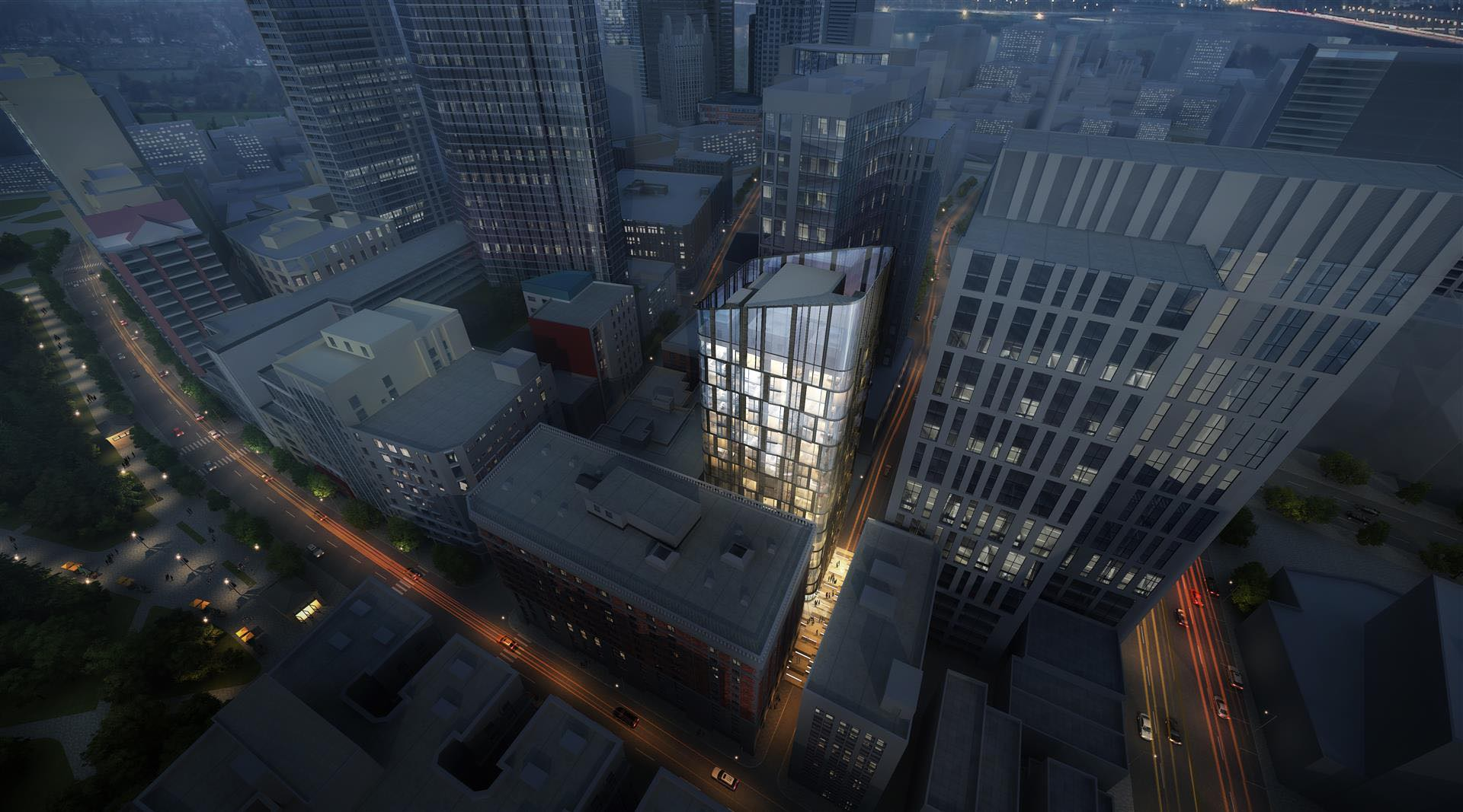 47 55 lagrange street downtown crossing boston tower residential retail development the matteson companies gfi partners