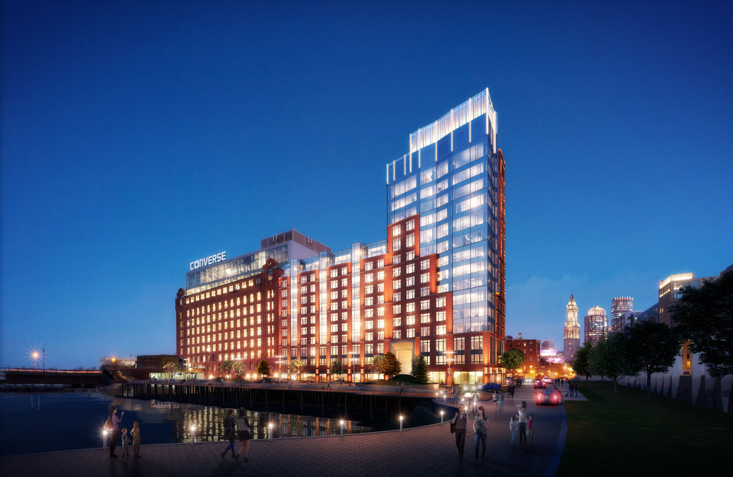 Lovejoy wharf 131 beverly street bulfinch triangle boston office retail luxury condominium development related beal