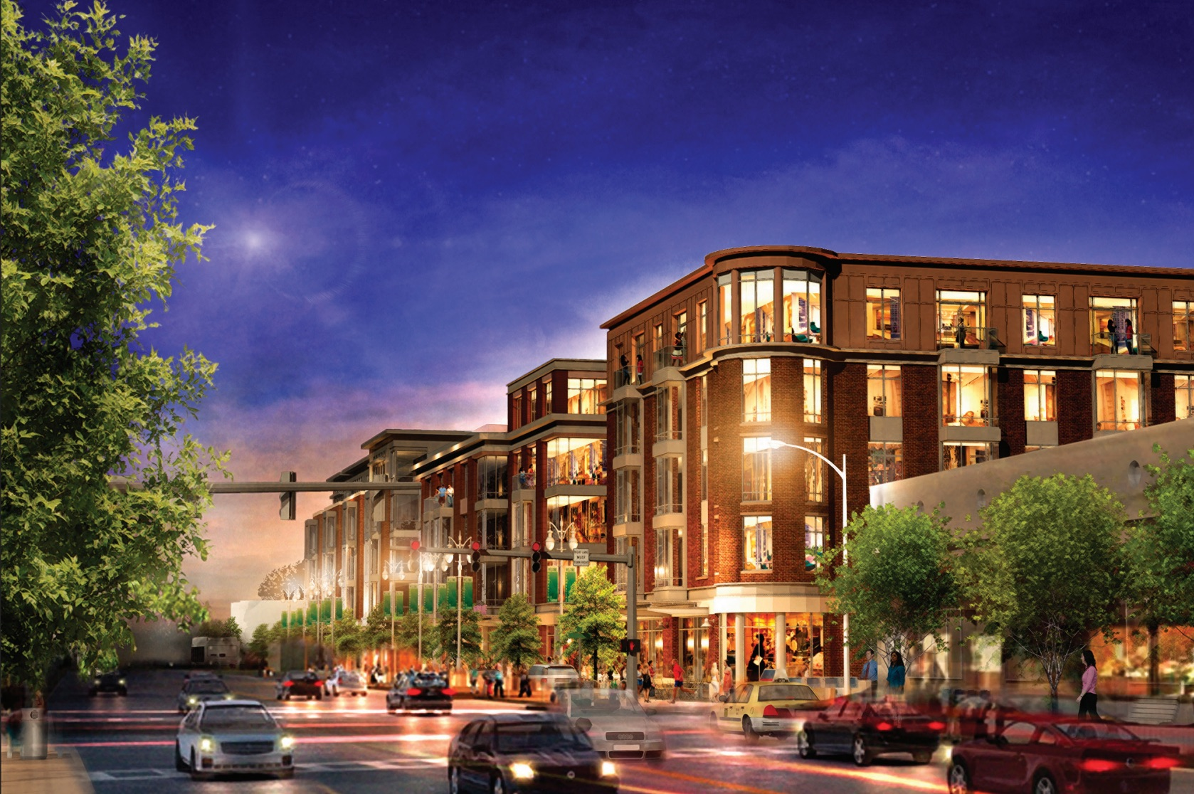 Washington place newtonville newton mixed use residential retail development mark investment