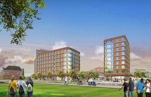 Umass boston residence hall 1 student housing development capstone communities dorchester