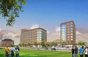 Umass boston residence hall 1 student housing development capstone communities dorchester