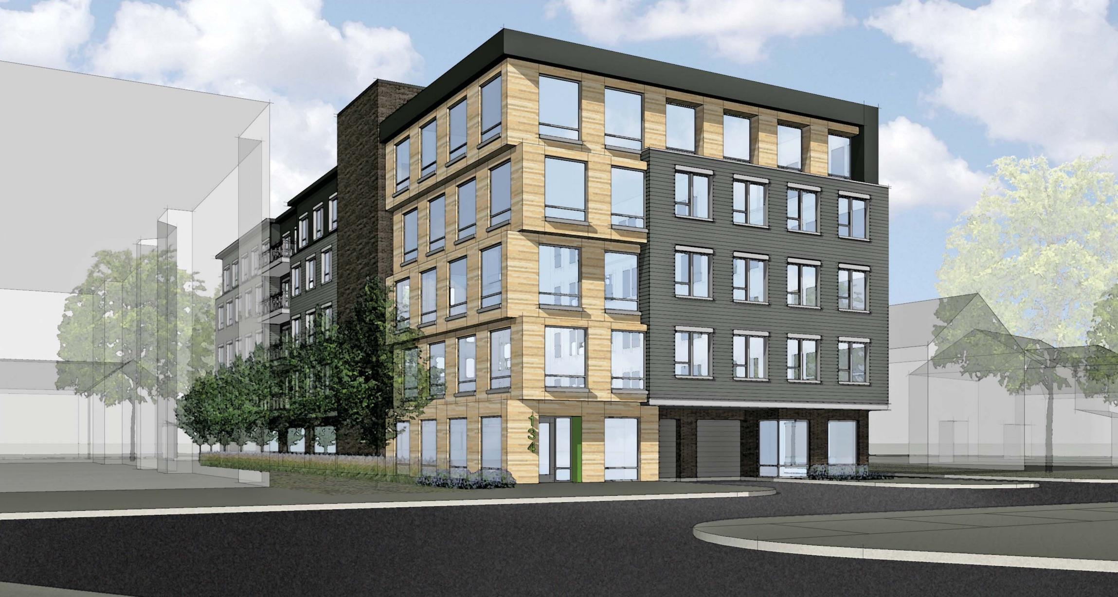 Babcock place 134 138 babcock street brookline proposed residential apartment development tremont asset management llc slater