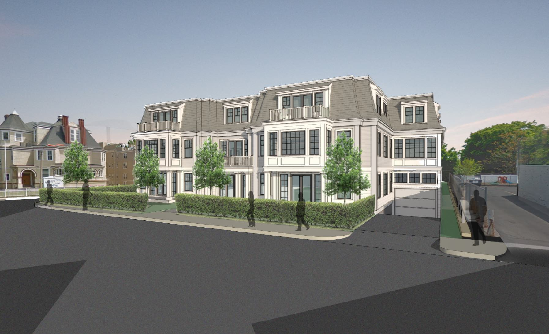 54 pleasant street funeral home proposed development dorchester boston savin hill jones hill giuseppe arcari tavern in the square acquisition residential new condominiums