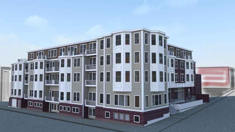 Residences at 245 sumner street residential development east boston velkor realty trust kneeland construction