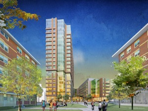 Emmanuel college new julie hall building 300 brookline avenue fenway boston