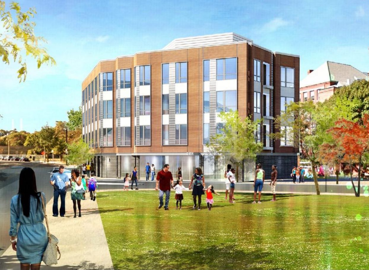 2451 washington street condominiums dudley square proposed residential development madison park development corporation dream collaborative