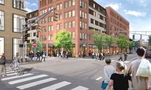 First street east cambridge development urban spaces office residential retail