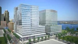 Vertex pharmaceuticals headquarters fan pier boston seaport district 11 fan pier boulevard 50 northern avenue