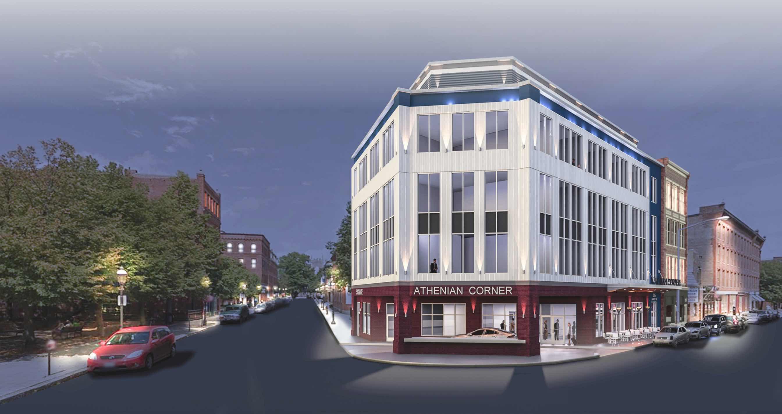 205 207 market street athenian corner hotel restaurant development lowell ma