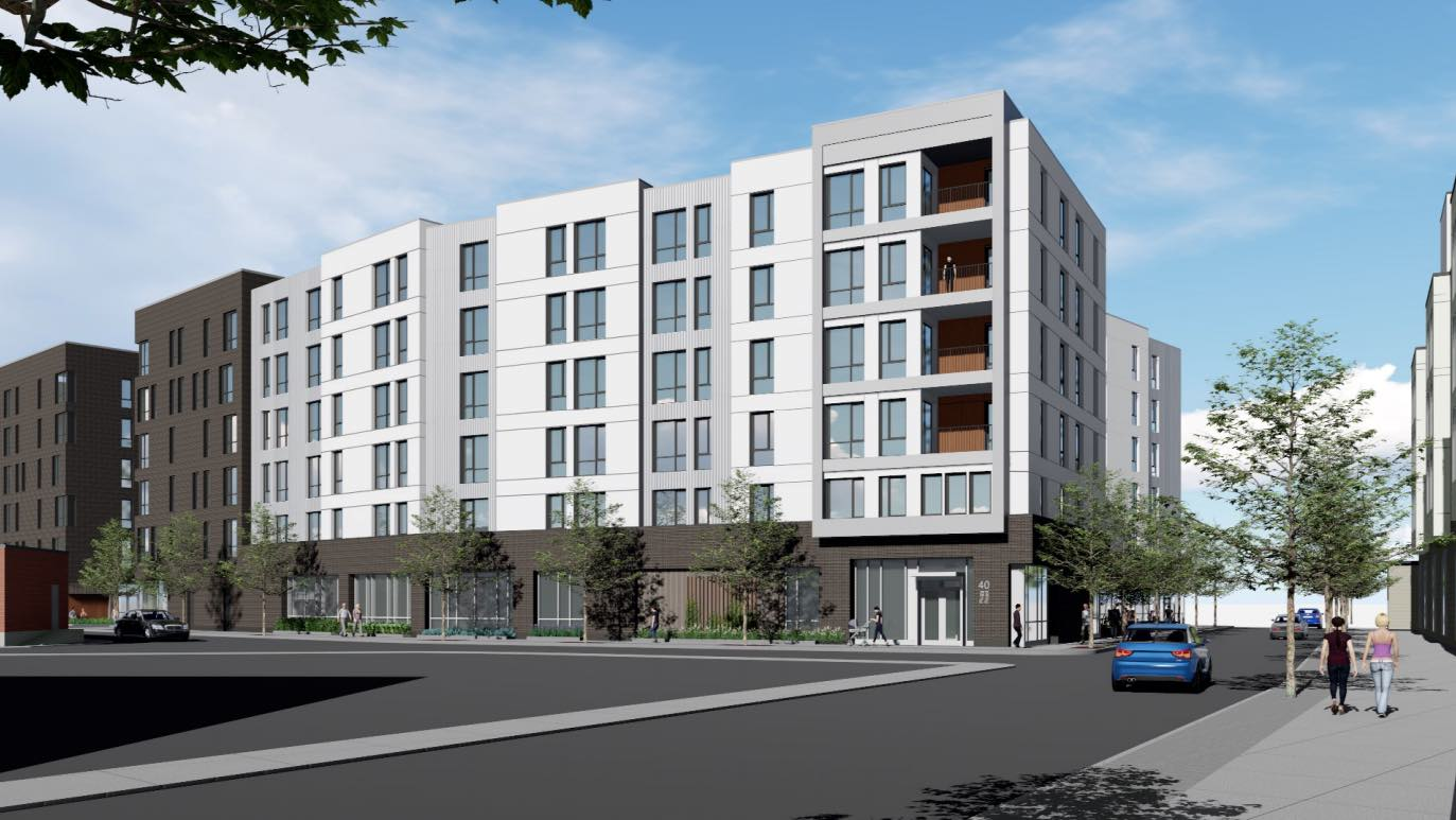 40 Rugg Road Allston Brighton Apartment Residential Retail Development The  Michaels Organization Dimella Shaffer ...
